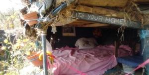 Refugio en el monte Naranco