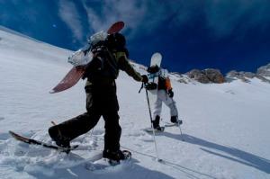 raquetas nieve asturias
